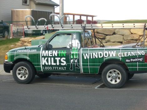Men in Kilts Window Cleaners 1