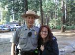 Yosemite 2012- Surprise meeting with Jack, one of my Search & Rescue Angels