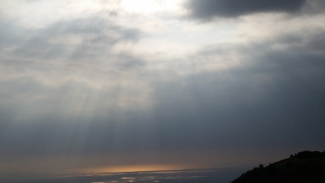 Amazing sun rays