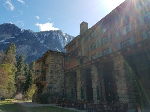 Ahwahnee Hotel, sadly now named the Majestic Hotel