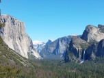 El Capitan, Half Dome, Bridal Veil Falls